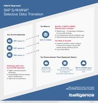 SAP S/4HANA Selective Data Transition infographic thumbnail.